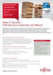 Fujitsu - Business Continuity vmware - it-consulting