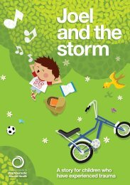 Joel and the Storm - Australian Centre for Posttraumatic Mental Health