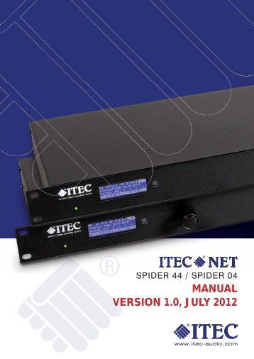 The Serial interface - Itec
