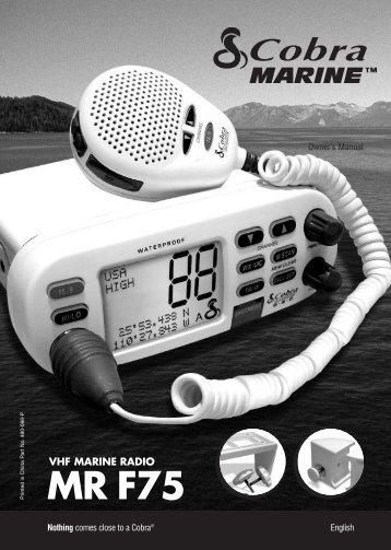 MR F75 - Cobra Electronics