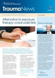 Trauma News - Australian Centre for Posttraumatic Mental Health
