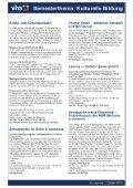 Programm Volkshochschule - Volkshochschule der Stadt Schenefeld - Seite 6