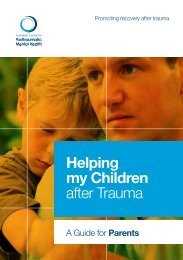 Helping my Children after Trauma - Australian Centre for ...