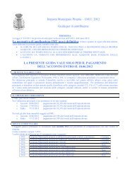Imposta Municipale Propria guida al contribuente (2) - Comune di ...