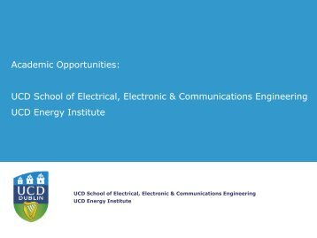 Professor in Intelligent Energy Systems - Electricity Research Centre