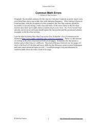 Calculus Cheat Sheet Pauls Online Math Notes Where p and q are polynomial functions. calculus cheat sheet pauls online