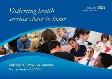 Provider Services Annual Report 2008-09 - NHS Kirklees