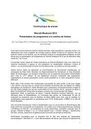 Communiqué de presse - Eurodistrict SaarMoselle