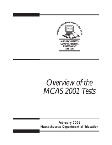 MCAS Release of February 2012 Biology Test Items
