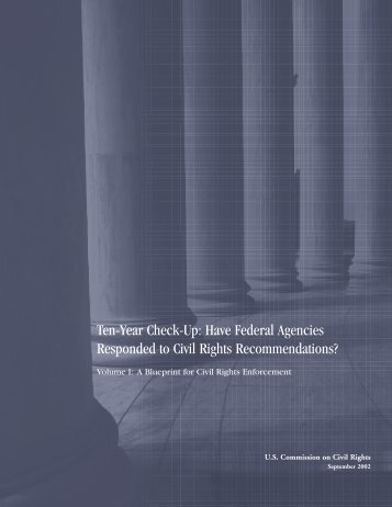 A blueprint for reform us department of education volume i a blueprint for civil rights enforcement us malvernweather Choice Image