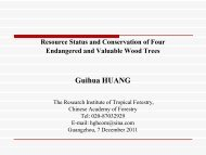 Guihua HUANG - APAFRI-Asia Pacific Association of Forestry ...