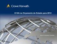 O IVA no Orçamento do Estado para 2012 - Crowe Horwath ...