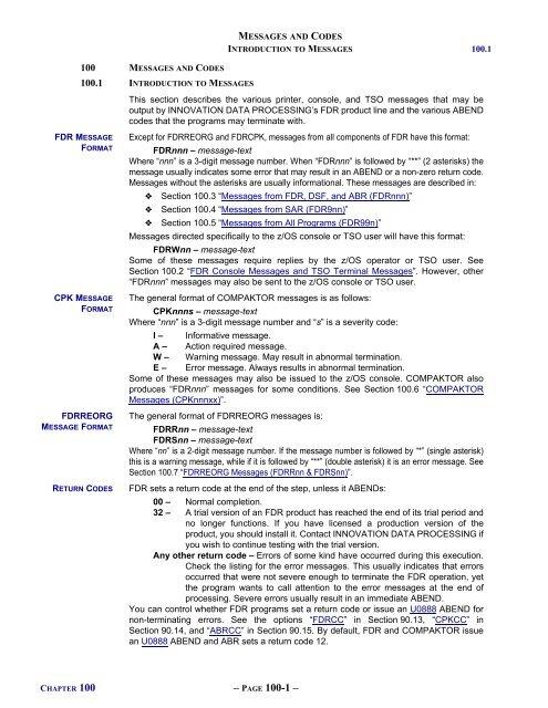 FDR V54L78 - Innovation Data Processing