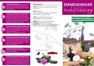 Wohlfühltag - Gewerbeverein Emmendingen