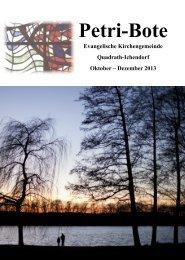 Ausgabe 4/2013 - evangelisch-in-qi.de