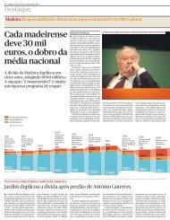 A dívida da Madeira - Clube de Jornalistas