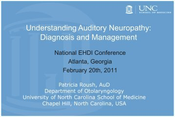 Understanding Auditory Neuropathy: Diagnosis and Management