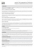 Ihre Anmeldung für die yesss! Vertragsoption Telefonie - Seite 2
