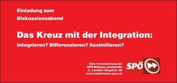 Einladung zur Podiumsdiskussion mit Stadträtin ... - SPÖ Landstrasse