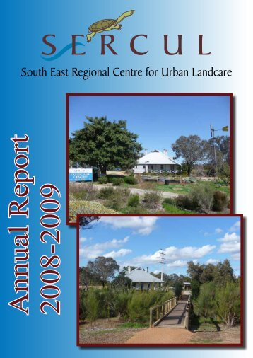 Annual Report 2008-2009 - SERCUL
