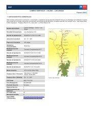 MOP CAMINO SANTIAGO – COLINA – LOS ANDES Febrero 2012 1 ...