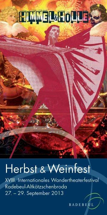 Download Flyer - Herbst- und Weinfest Radebeul