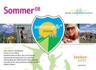 Sommer08 - Katholischer Familienverband Österreichs