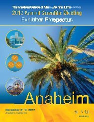 Exhibitor Prospectus - American College of Allergy, Asthma and ...