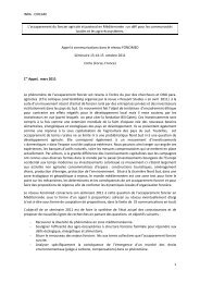 foncimed.pdf - INRA Montpellier