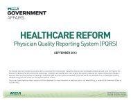 HEALTHCARE REFORM - Hida