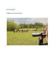 Verslag Leeuwense Waard 2012 - ARK Natuurontwikkeling