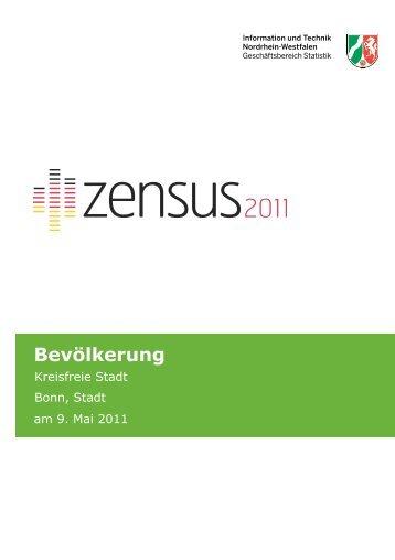 Zensus 2011 - Gemeindeblatt Bevölkerung. Hrsg.: Information und ...