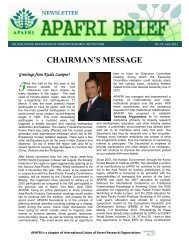 Read more... - APAFRI-Asia Pacific Association of Forestry ...
