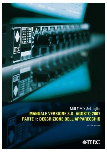 schema multimix 8/4 - Itec