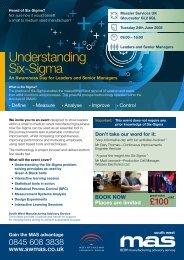 Understanding Six-Sigma - SWMAS