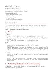 RANNOUX Julie - Sciences Po Aix