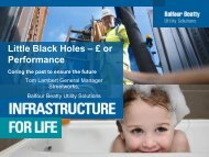 Little Black Holes – £ or Performance - Energy Networks Association