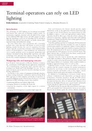 Port Technology May 2012 - Pages 74-75 - Phoenix Products