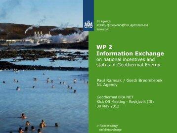WP2 Information exchange - Georg