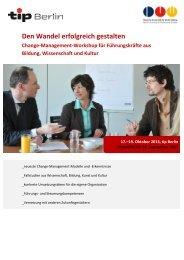 Den Wandel erfolgreich gestalten - Deutsche Universität für ...