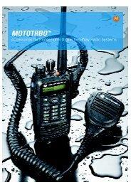 MOTOTRBO™ Accessories Brochure - Motorola Solutions