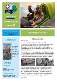 Newsletter Januar 2012 - Ipms-sg.ch