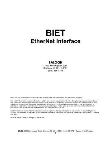 BIET - Anixandra