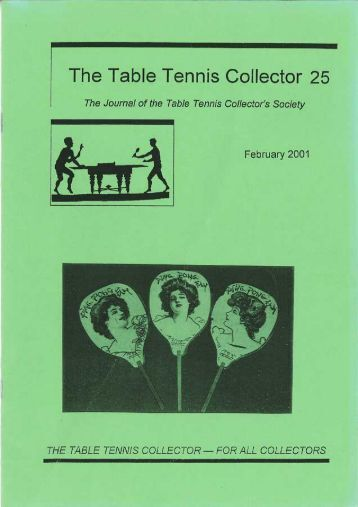 The Table Tennis Collector 25 - ITTF