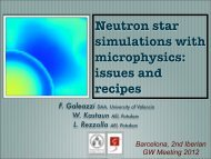 Neutron star simulations with microphysics: issues and recipes