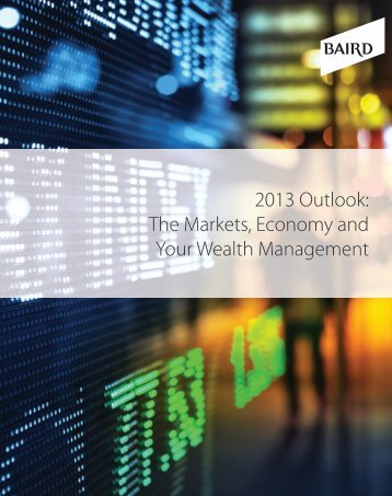 2013 Outlook - Hoffman And Hock Group