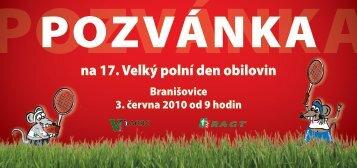 Pozvánka Branišovice 2010.pdf - VP Agro