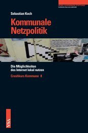 Kommunale Netzpolitik - VSA Verlag