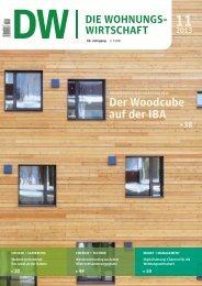 Der Woodcube auf der IBA 11 2013 - Haufe.de