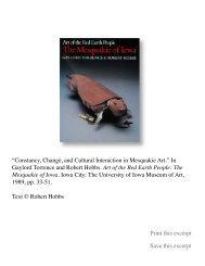 Art of the Red Earth People - Robert Hobbs